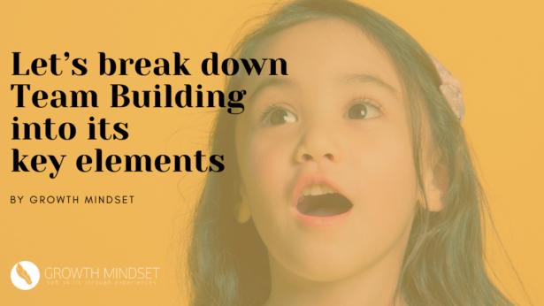 Team Building - Soft Skills - Growth Mindset